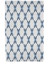 East Urban Home Upscale Getaway Criss Cross Beach Towel ESTW5571 Color: Light Blue