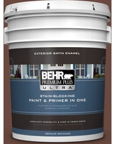 Sales On Behr Ultra 5 Gal S G 750 Chocolate Sprinkle Flat Exterior Paint And Primer In One