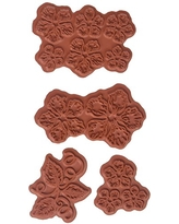 Heartfelt Creations Classic Rose Cling Rubber Stamp