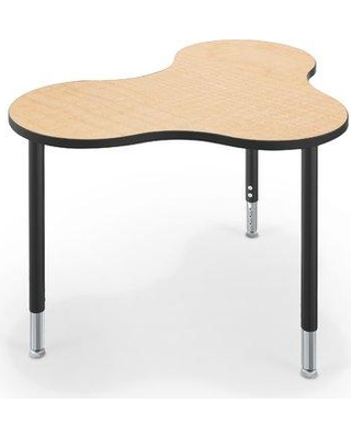 MooreCo Balt Cloud 9 Wood Adjustable Height Collaborative Desk 1333C1 Desk Finish: Fusion Maple