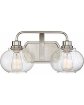 """Quoizel Trilogy 8 1/4"""" High Brushed Nickel Wall Sconce"""