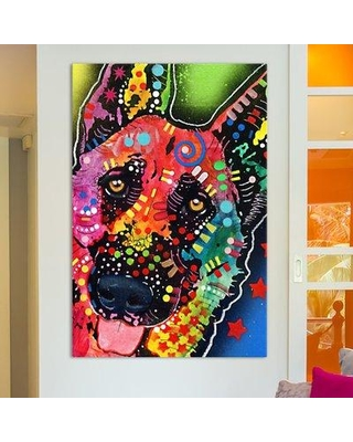 """East Urban Home 'Jackson' by Dean Russo Graphic Art on Wrapped Canvas ESRB4210 Size: 26"""" H x 18"""" W x 1.5"""" D"""