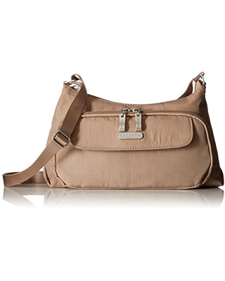 Lightweight Purse With Built-In Wallet and Adjustable Strap Stylish Baggallini Everyday Crossbody Bag