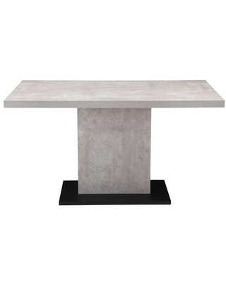 Hanlon Collection ER-2064-29 Dining Table with Powder Coated Iron Legs in Gray