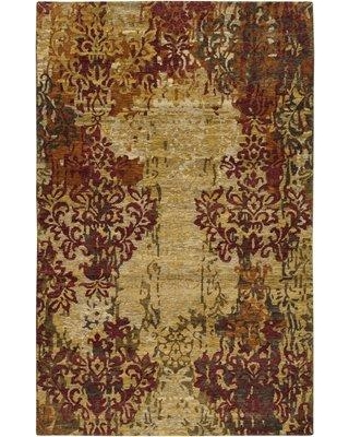 Bungalow Rose Urrutia Hand-Knotted Wool Desert Sand Area Rug BNRS3611 Rug Size: Rectangle 5' x 8'