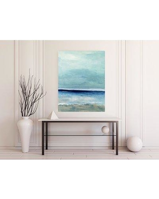 """Dubois Art LLC. 'In Too Deep' by Lori Dubois - Wrapped Canvas Painting Print JAM- Size: 48"""" H x 36"""" W x 2"""" D"""