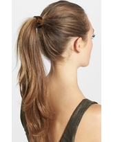 France Luxe Elodie Cuff Ponytail Holder, Size One Size - Brown