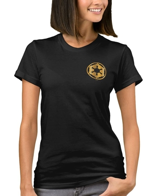 Get This Deal On Gold Imperial Symbol T Shirt For Women Star Wars The Rise Of Skywalker Customizable Official Shopdisney