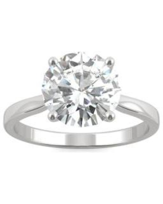 Charles & Colvard White 3/4 ct. t.w. Lab Created Moissanite Solitaire Engagement Ring in 14k White Gold