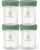 Sage Spoonfuls Snack Jar 4pk Container - 8oz, Clear