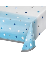 One Little Star Boy Plastic Tablecloth