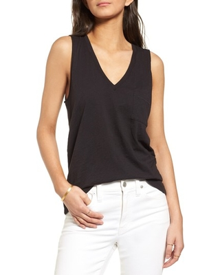 c6716f3a1d4b5 Shopping Special  Women s Madewell Whisper Cotton V-Neck Tank