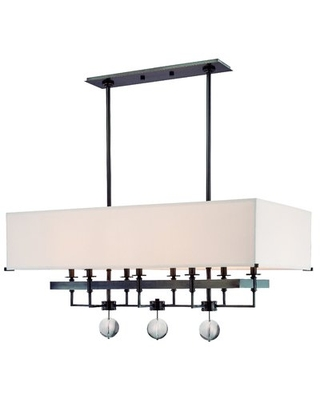 Emsley 8-Light Kitchen Island Pendant Darby Home Co Finish: Old Bronze