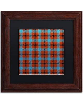 "Trademark Fine Art 'Group 06 A' by Color Bakery Framed Graphic Art ALI4971-W1 Matte Color: Black Size: 16"" H x 16"" W x 0.5"" D"