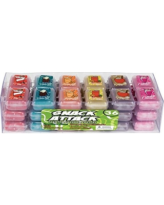 Pack of 144 Raymond Geddes Totally Adorkable Scented Kneaded Erasers,