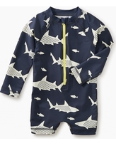 Tea Collection Shark Rash Guard One-Piece