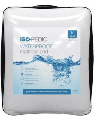 Iso-Pedic Waterproof Mattress Pad