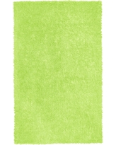 St Croix Trading Company Green Shag Chenille Twist 4 ft. x 6 ft. Area Rug
