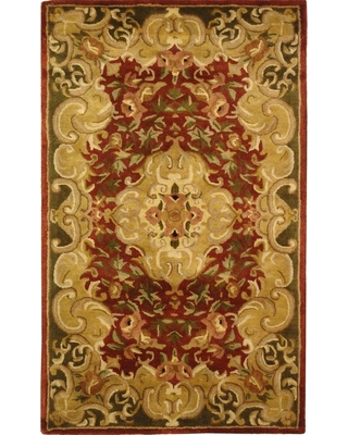 Safavieh Classic Rust/Green (Red/Green) 3 ft. x 5 ft. Area Rug