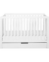 Carter's by DaVinci Colby 4-in-1 Convertible Crib with Storage F11951W Color: White