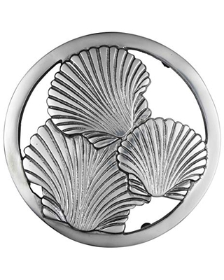 Thirstystone Aluminum Shell trivet, one size, silver