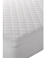 Modern. Southern. Home.™ White Basic Comfort Queen Mattress Pad