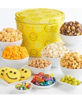 Smiley Dot 2 Gallon Grand Snack Assortment by The Popcorn Factory
