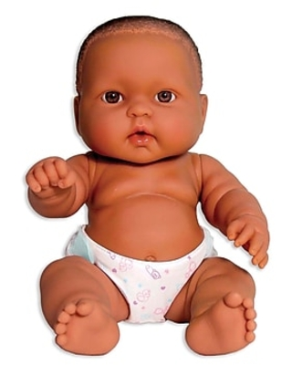 """JC Toys Lots To Love Babies African American Baby Doll, 14"""""""