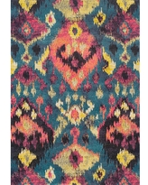 Deals On Addison Rugs Dunes Wool Ombre Teal 5 Ft X 7 Ft 3 In Area Rug Blue
