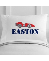 4 Wooden Shoes Personalized Race Car Toddler Pillow Case WF-12-104