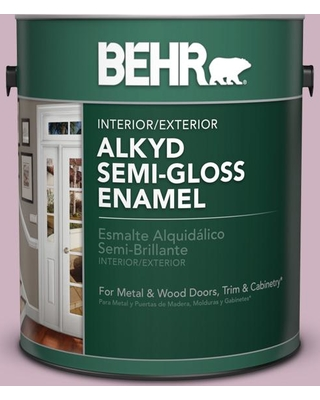 Special Prices On Behr 1 Gal S120 3 Candlelight Dinner Urethane Alkyd Semi Gloss Enamel Interior Exterior Paint