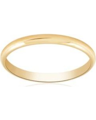 Belk & Co. Yellow Polished Wedding Band Ring in 14k Yellow Gold