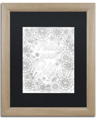 """East Urban Home 'Inspirational Quotes 15' Framed Graphic Art ETRB6751 Size: 20"""" H x 16"""" W x 0.5"""" D Matte Color: Black"""