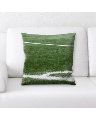 Ebern Designs Langley Soccer Field Throw Pillow BF141678
