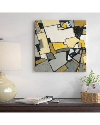 """East Urban Home Garden II Painting Print on Wrapped Canvas ESHM7012 Size: 12"""" H x 12"""" W x 1.5"""" D"""