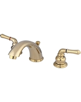 Widespread Bathroom Faucet Polished Brass - Kingston Brass