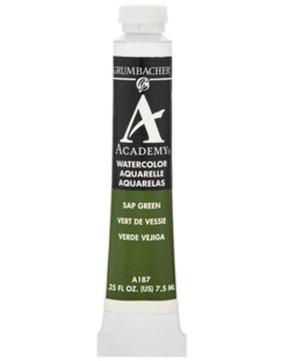 Spectacular Savings on Sap Green Academy Watercolor Paint