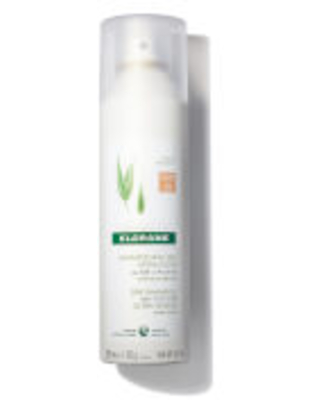 Klorane Dry Shampoo with Oat Milk and Natural Tint- for Dark Hair 5.4 oz