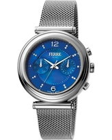 FERRE MILANO Women's Stainless Steel Watch, 36mm in Silver at Nordstrom Rack