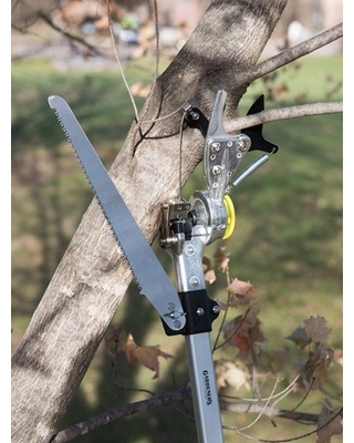 Gardener's Pro Rotating Pole Pruner with Saw
