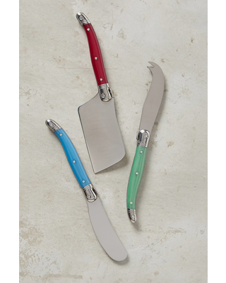 Laguiole Cheese Knives, Set of 3
