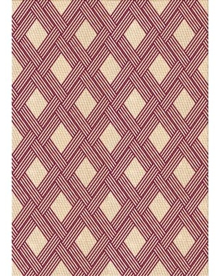 Wool Beige/Pink Area Rug East Urban Home Rug Size: Rectangle 2' x 4'