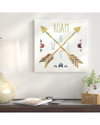 "East Urban Home 'Beautiful Arrows VI' Graphic Art Print on Canvas ETHH6231 Size: 24"" H x 24"" W"