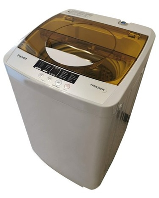 Panda Portable Washing Machine, 10lbs Capacity, 10 Wash Programs, 2 built in rollers/casters, Compact Top Load Cloth Washer, 1.34 Cu.ft
