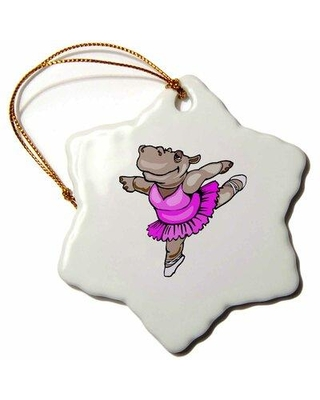Don T Miss These Deals On The Holiday Aisle Hippo Ballet Dancer Holiday Shaped Ornament Ceramic Porcelain In Pink Size 3 H X 3 W Wayfair