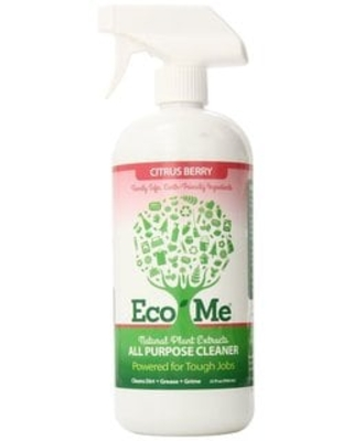 Eco-Me All Natural 32-ounce All Purpose Cleaner (Pack of 6) (32 oz Citrus Berry All Purpose Cleaner)