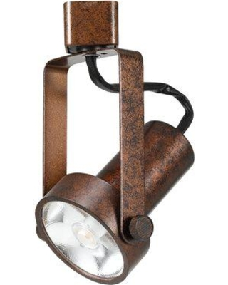Cal Lighting Dimmable Integrated LED Track Fixture Head HT-121-BK Finish: Rust