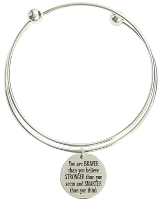 You are braver that you believe double layer bangle