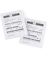 Le Prise Bride and Groom Advice Cards W001005725