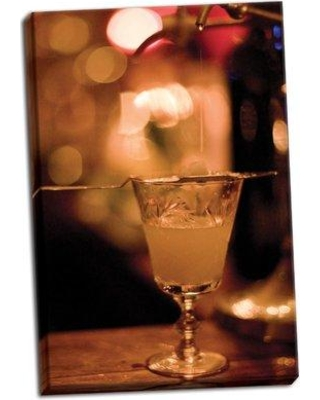 East Urban Home 'Cocktail Hour XIV' Photographic Print on Wrapped Canvas BI047122